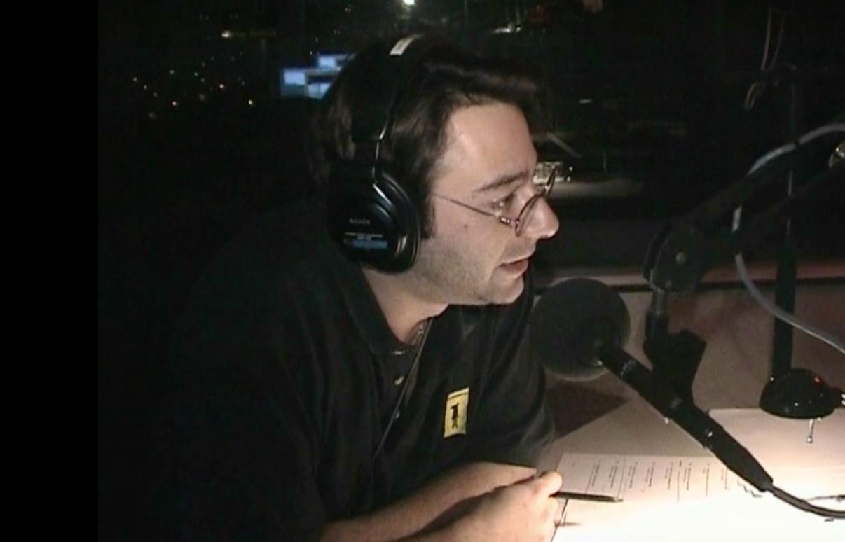 Jeffrey tijdens de Top 2000